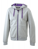 Grey Heather/Purple
