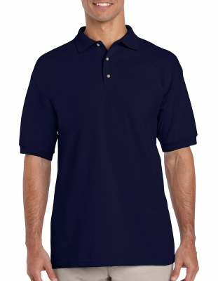 Herren Polo-Shirt / Gildan 3800 S Navy