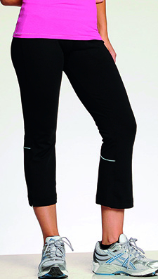 Damen Sporthose, Freizeithose / alo W5002 / S Black/Grey