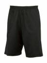 Herren Freizeithose halblang / B&C Shorts Move tm202  M Black
