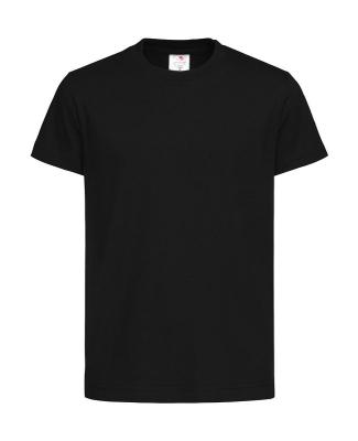 Jungen T-Shirt - Stedman 2200 / XL (152) Black Opal
