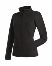 Active Fleece Jacket Women bis Gr.XL / Active ST5100 XL Black Opal