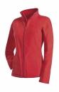 Active Fleece Jacket Women bis Gr.XL / Active ST5100 XL Scarlet Red