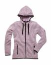 Active Strick Fleece Jacke Damen bis Gr.XL / Stedmann ST5950 XL Purple Melange