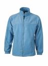 Fleece Jacke bis Gr.4XL / James & Nicholson JN044 S Light Blue