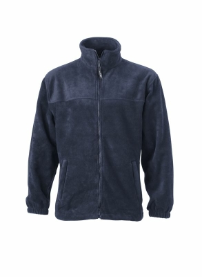 Fleece Jacke bis Gr.4XL / James & Nicholson JN044 S Navy