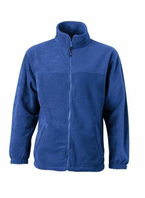 Fleece Jacke bis Gr.4XL / James & Nicholson JN044 M Royal