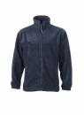 Fleece Jacke bis Gr.4XL / James & Nicholson JN044 M Navy
