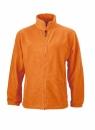 Fleece Jacke bis Gr.4XL / James & Nicholson JN044 L Orange