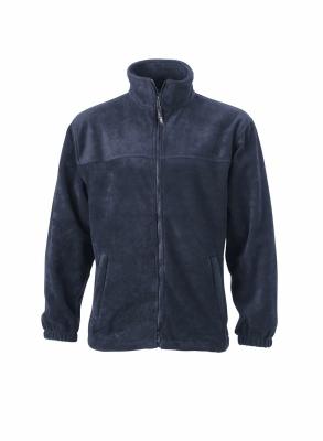 Fleece Jacke bis Gr.4XL / James & Nicholson JN044 L Navy