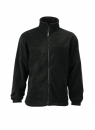 Fleece Jacke bis Gr.4XL / James & Nicholson JN044 L Black