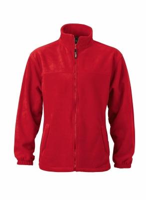 Fleece Jacke bis Gr.4XL / James & Nicholson JN044 XL Red