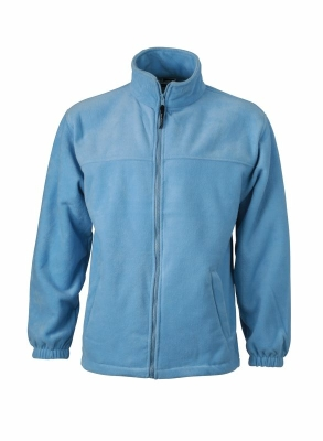 Fleece Jacke bis Gr.4XL / James & Nicholson JN044 XL Light Blue