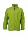 Fleece Jacke bis Gr.4XL / James & Nicholson JN044 XL Lime Green