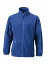 Fleece Jacke bis Gr.4XL / James & Nicholson JN044 XL Royal