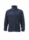 Fleece Jacke bis Gr.4XL / James & Nicholson JN044 XL Navy