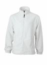 Fleece Jacke bis Gr.4XL / James & Nicholson JN044 XL White