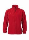 Fleece Jacke bis Gr.4XL / James & Nicholson JN044 4XL Red