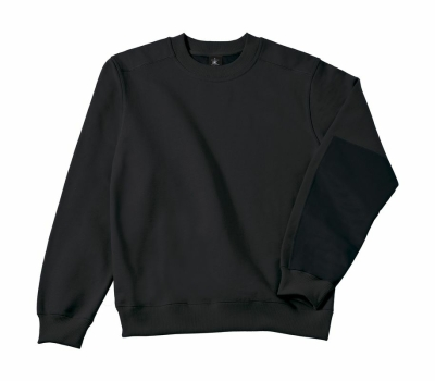 Arbeits Sweatshirt bis Gr.4XL / B&C Hero Pro WUC20 S Black