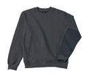 Arbeits Sweatshirt bis Gr.4XL / B&C Hero Pro WUC20 S Dark Grey