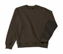 Arbeits Sweatshirt bis Gr.4XL / B&C Hero Pro WUC20 S Brown