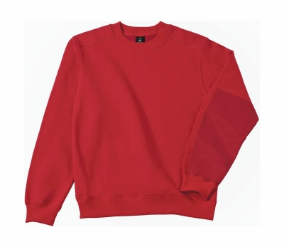 Arbeits Sweatshirt bis Gr.4XL / B&C Hero Pro WUC20 L Red