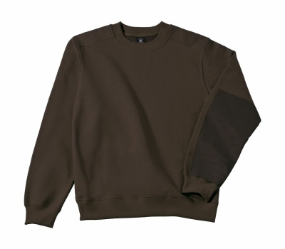 Arbeits Sweatshirt bis Gr.4XL / B&C Hero Pro WUC20 L Brown