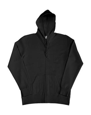 Damen Zip Hood Sweatjacke bis Gr.2XL / SG29F XS Black