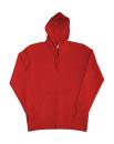 Damen Zip Hood Sweatjacke bis Gr.2XL / SG29F XS Red
