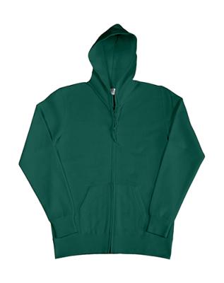 Damen Zip Hood Sweatjacke bis Gr.2XL / SG29F L Bottle Green