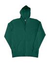 Damen Zip Hood Sweatjacke bis Gr.2XL / SG29F XL Bottle Green