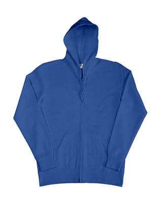 Damen Zip Hood Sweatjacke bis Gr.2XL / SG29F 2XL Royal Blue