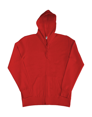 Damen Zip Hood Sweatjacke bis Gr.2XL / SG29F 2XL Red