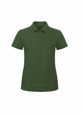 Damen Polo Shirt bis Gr.3XL B&C PWI11 XS Bottle Green