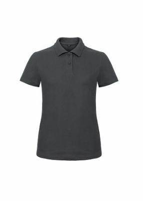 Damen Polo Shirt bis Gr.3XL B&C PWI11 XS Anthracite
