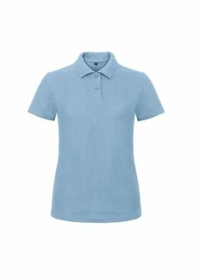 Damen Polo Shirt bis Gr.3XL B&C PWI11 XS Light Blue