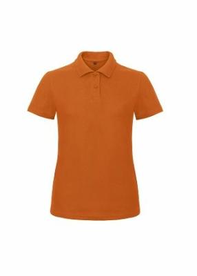 Damen Polo Shirt bis Gr.3XL B&C PWI11 XS Orange