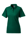 Damen Poloshirt bis Gr.4XL / Russell Europe R-539F-0 XS Bottle Green