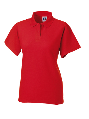 Damen Poloshirt bis Gr.4XL / Russell Europe R-539F-0 M Bright Red