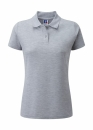 Damen Poloshirt bis Gr.4XL / Russell Europe R-539F-0 2XL Light Oxford