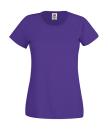 Original T Lady-Fit bis Gr.2XL / Fruit of the Loom 61-420-0 XS Purple