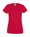 Original T Lady-Fit bis Gr.2XL / Fruit of the Loom 61-420-0 XS Red
