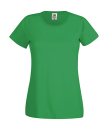 Original T Lady-Fit bis Gr.2XL / Fruit of the Loom 61-420-0 S Kelly Green
