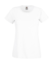 Original T Lady-Fit bis Gr.2XL / Fruit of the Loom 61-420-0 M White