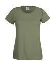 Original T Lady-Fit bis Gr.2XL / Fruit of the Loom 61-420-0 M Classic Olive