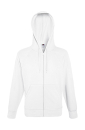 Lightweight Hooded Sweat Jacket bis Gr.2XL / Fruit of the Loom 62-144-0 XL White