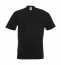 Herren Shirt Super Premium Tee bis Gr.5XL / Fruit of the Loom 61-044-0 5XL Black