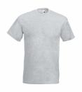 Herren Shirt Super Premium Tee bis Gr.5XL / Fruit of the Loom 61-044-0 5XL Heather Grey