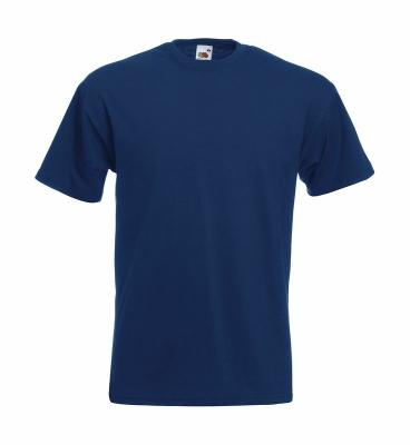 Herren Shirt Super Premium Tee bis Gr.5XL / Fruit of the Loom 61-044-0 5XL Navy