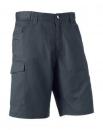 """Twill Workwear Shorts Russell R-002M-0 36"""" (91cm) Convoy Grey"""